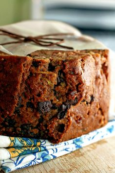 Dark Chocolate & Cherry Zucchini Bread