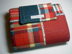 Nautical Plaid Travel Diaper Changing Pad by BabblesBubblesBows, $25.00