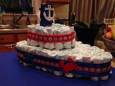 Hooray for diaper cakes!! Or boats!!