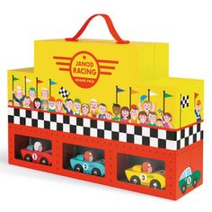 Image result for racing car toys janod