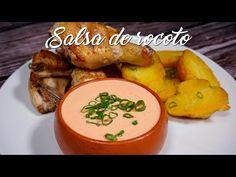 Salsa de Rocoto – A Comer Peruvian Dishes, Peruvian Cuisine, Peruvian Recipes, Pizza Americana, Appetizer Dips, Vegan Options, Recipe Collection, Sauce Recipes, Pasta Recipes
