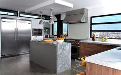 Cozinhas com Ilhas: um Prazer para os Cinco Sentidos   Projetos Designer de Interior