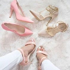 """""""Pink or nude? """" Photo taken by @shoes on Instagram, pinned via the InstaPin iOS App! http://www.instapinapp.com (09/29/2015)"""
