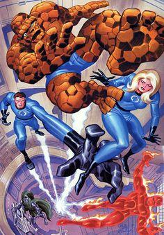 Bruce Timm // Fantastic Four