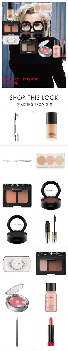 """""""marilyn monroe makeup"""" by oroartye-1 on Polyvore featuring beauty, Benefit, Armani Beauty, Chantecaille, Topshop, NARS Cosmetics, MAC Cosmetics, L'Oréal Paris, Physicians Formula and Perricone MD"""