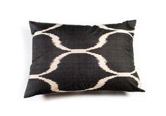 Luxury Silk Ikat Cushions from Batterbury