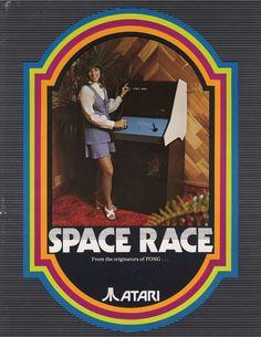 Atari Space Race 1973