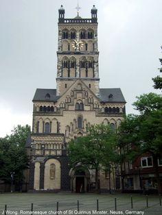 Church of St Quirinus Minster (romanesque), Neuss Germany