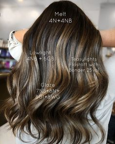Balayage Hair Caramel, Caramel Hair, Balayage Brunette, Toner For Brown Hair, Honey Brown Hair, Rich Brunette, Brunette Color, Brunette Girl, Matrix Hair Color
