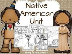 Native American Unit for 2nd and 3rd grade.   Learning Lessons with Mrs. Labrasciano Eastern Woodlands, Southeast, Plains, Northwest,