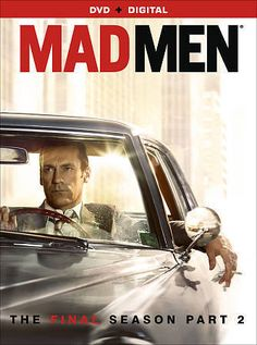 """This release collects every episode from the final season of the stylish AMC drama that follows the lives of Madison Avenue advertising executives (so-called """"Mad Men"""") in the 1960s and 70s. The show"""