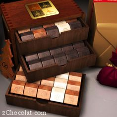 Ridley Online Shopping » zChocolat's Limited Edition Praline Gift Box