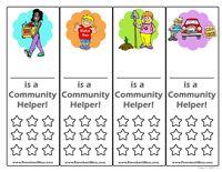 Community Helpers Preschool Printables