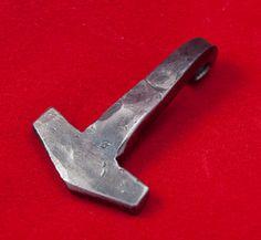 Hand Forged Thor's Hammer by SvensVikingForge on Etsy, $20.00