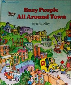 Busy People All Around Town (Golden Busy Book) by Golden Books (1988-05-01): Amazon.co.uk: Books