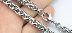 10pcs 26inch 8mm 316L stainless steel necklace by aliyafang, $72.00