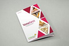#brochure #graphic #adv #food for Vamafarm - #Avellino #glutenfreepasta