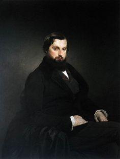Portrait of Gian Giacomo Poldi Pezzoli - Francesco Hayez,  c. 1851 -  Oil on canvas, 120 x 94 cm Museo Poldi Pezzoli, Milan