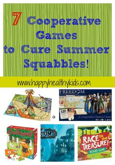 Education experts love the new trend toward cooperative games for kids. We review our favorites.