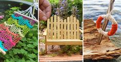 Du behöver inte göra några omfattande projekt för att göra plats för en älva hemma, det hänger på de små detaljerna! Här är 16 snabba tips. Aquaponics, Land, Handicraft, Outdoor Structures, Diy Crafts, Fairy Gardens, Flowers, Christmas, Inspiration