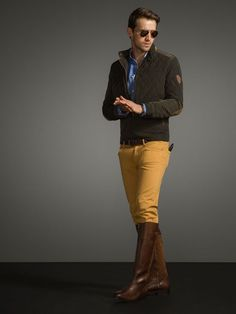 Massimo Dutti Equestrian Fall-Winter 2014-2015 Menswear (8)