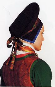 Hello all, Today I will cover the last province of Norway, Hordaland. This is one of the great centers of Norwegian folk costume, hav. Folk Costume, Costumes, Folk Clothing, Traditional Outfits, Norway, Embroidery, Ideas, Hardanger, Head Jewelry