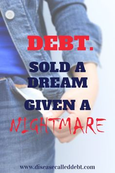 I have a different perspective on debt for you today from fellow blogger Richard Greaney. Find out why he hates debt so… http://itz-my.com