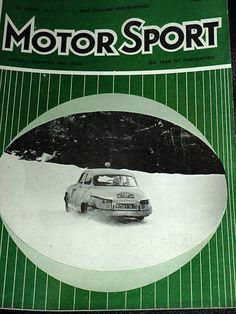 MONTE CARLO RALLY 1961 CITROEN DS19 PANHARD MARTIN BATEAU ANNE HALL DOMLEO