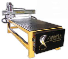 Made in the USA Built in the USA and backed by the industries best warranty and unparalleled support from CAMaster & First Choice Industrial, the Cobra CR 408 CNC Router is ideal for nested-based manufacturing of cabinets, for sign making, woodworking, fabrication of solid surface materials, non-ferrous metals, 3D machining, prototyping, and more. View First Choice Industrial's complete review at http://firstchoiceind.net/blog/?p=14009
