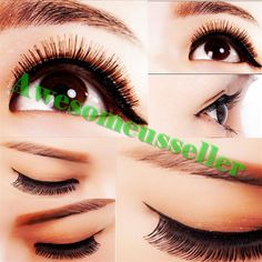 90Pairs Soft Natural Handmade Eye Lash Makeup Charming False Eyelashes #143B #MissDaisy
