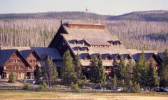 Visit one of the oldest (and largest) rustic log hotels in America - Posted on Roadtrippers.com!