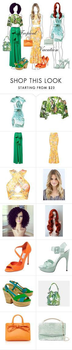 """Untitled #398"" by ellie-em42 ❤ liked on Polyvore featuring Tome, Jimmy Choo, Roger Vivier, Kate Spade, Alix, Mansur Gavriel and Eddie Borgo"
