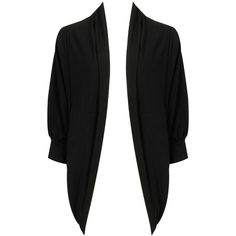 3Q Open Front Cardigan ($23) found on Polyvore