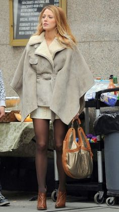 Silk and Spice: Get The Look: Gossip Girl Style - Serena Van Der Woodsen's coat