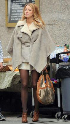 Silk and Spice: Get The Look: Gossip Girl Style - Serena Van Der Woodsen's coat