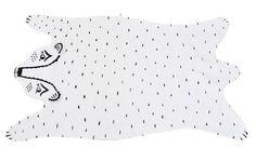 Heirloom Bear Blanket by Roxy Marj eclectic kids decor Bear Blanket, Bear Rug, Little People, Little Ones, Deco Kids, Cute Blankets, Baby Blankets, Textiles, Kid Spaces