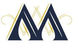 Some gorgeous designed graphic capital M's - maybe to incorporate on an invite or elsewhere?