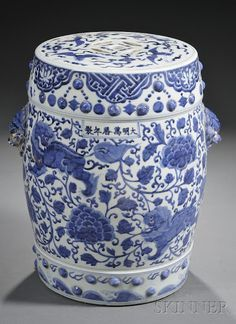 Blue and White on Pinterest | Ginger Jars, Porcelain and Chinese