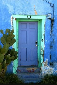 Tucson Blue Door by angie rule