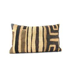 African | Textile | Kuba | Cloth | Raffia | Pillows | The Loaded Trunk