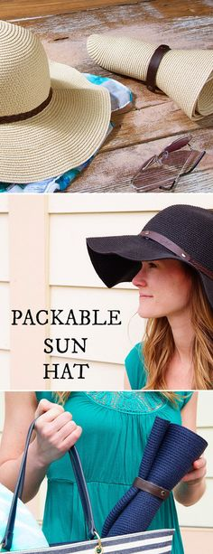 This sun hat rolls up to pack—without losing its shape. The wooden-fiber weave is as flexible as it is stylish. Discovered by The Grommet.