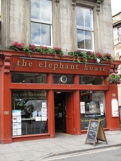 Elephant House, birthplace of Harry Potter, Edinburgh, Scotland | Flickr - Photo Sharing!