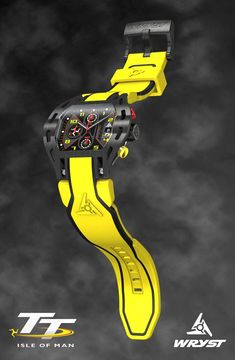 Yellow sport watch in limited edition Wryst Elements Swiss Made Isle of Man TT 2016 Swiss sport watch Mens Sport Watches, Luxury Watches For Men, Male Watches, Wrist Watches, Bell Ross, Swiss Army Watches, Expensive Watches, Affordable Watches, Isle Of Man