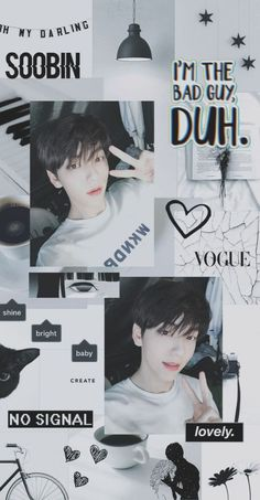 Aesthetic Collage, Kpop Aesthetic, Aesthetic Iphone Wallpaper, Aesthetic Wallpapers, Quotes Lockscreen, Fandom Kpop, Nct Doyoung, Cute Wallpaper For Phone, K Idol