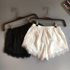 Plus Size Womens Sleep Bottoms Elastic Waist White Black Lace Shorts Casual Panties For Women Costume Sexy Silk Summer Nightwear Plus Size Dresses Australia, Womens Clothing Stores, Clothes For Women, Clothing Sites, Dresser, Plus Size Peplum, Viking Clothing, Black Lace Shorts, Houndstooth Dress