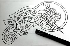 DeviantArt: More Like Celtic War Horse by Tattoo-Design