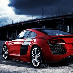 Who doesn't love a Audi R8?