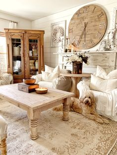 Feb 2020 - *Just a note to alway use a mask , gloves,and goggles if needed) for your Furniture Wax, Farmhouse Furniture, Furniture Makeover, Living Room Carpet, Home Living Room, Living Room Decor, Comedor Shabby Chic, Vintage Porch, Vintage Farmhouse Decor