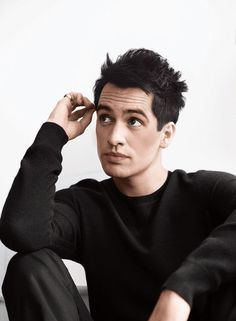 Brendon Urie for the Fender Offset Series<<< woah this is an amazing picture of him