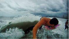 Surf - Rsagada de back molhando o doido ali - Se cagou!
